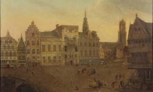 Adriaen Honich, De Stadhuisbrug te Utrecht (1663)