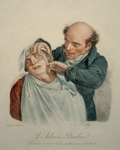 'De knappe kapper' van Louis Leopold Boilly