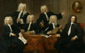 Overlieden van het Chirurgijnsgilde 1732