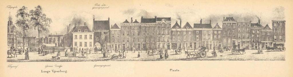 Gevangenpoort_Den_Haag_in_1837
