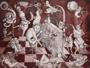 Katzenklavier, van Ludmilla Balfour