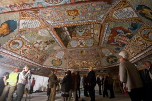 Plafond synagoge Gwoździec