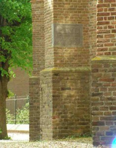 Streefkerk, peilsteen