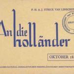 An die Hollaender