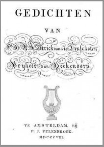Gedichten Strick van Linschoten