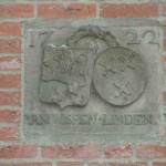 JF gevelsteen 1722