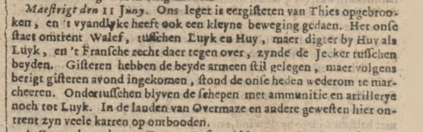 16 Amsterdamse Courant 14-6-1703