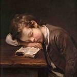 Lezend jongetje, Jean-Baptiste Greuze, 1755
