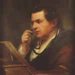Lezende man - Giuseppe Baretti, James Barry 1773