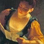 Lezende vrouw Jean Raoux