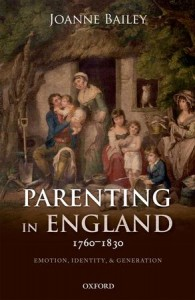 Parenting in England 1760-1830