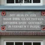 Enkhuizen, Hofje van Dirk Glas