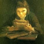 Lezende jongen - Sir Joshua Reynolds