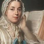 Lezende vrouw Maurice Quentin de la Tour