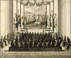 Nicolas Chevalier, vrede van Utrecht
