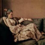 Lezende vrouw, Jean-Étienne Liotard 1753