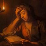 Lezende vrouw Enoch Seeman