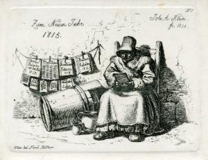 De kalenderverkoopster (1814/15)