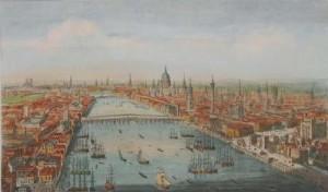 Londen 1751 door T Bowles