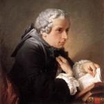 Lezende man - verm Giuseppe Baretti, door Pierre Hubert Subleyras