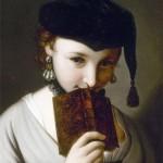 Meisje met boek, Pietro Antonio Rotari
