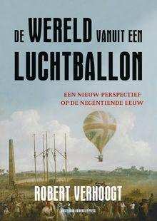 Wereld vanuit een luchtballon.