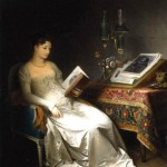 """Marguerite Gérard, """"Lady Reading in an Interior"""" (1795-1800)"""