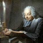 Maurice Quentin Delatour Abbe JJ Huber 1742