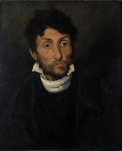 Théodore Géricault, De kleptomaan (ca 1820)