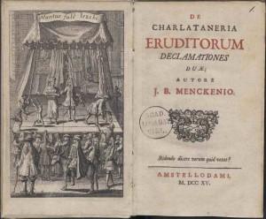 Charlataneria eruditorum