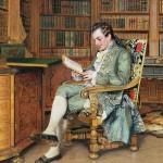 Johann Hamza, de bibliofiel