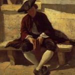 Jongeman met boek, Ernest Meissonier, 1860