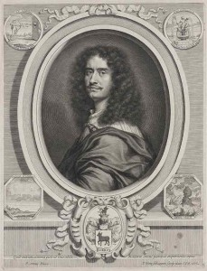 Portrait of Giuseppe Francesco  Borri, 1675