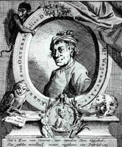 Portret van Kornelis van Oeveren, door Jan Stolker