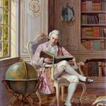 Lezende geleerde - Alois Heinrich Priechenfried
