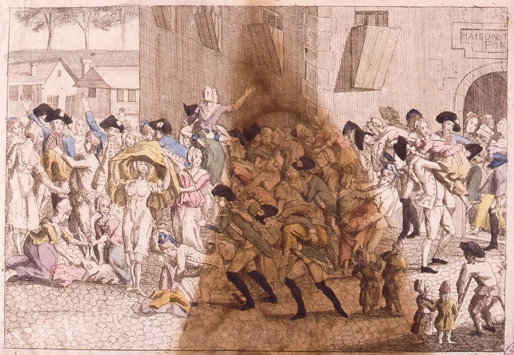 Eigentliche Vorstellung des Eigentliche Vorstellung des feyrlichen Auszugs der Frauenyimer aus dem Kaspelhaus in Strasburg