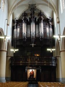 Het kerkorgel van de Sint-Quintinuskathedraal (Hasselt), dat Binvignat en zijn compagnon in 1791 bouwden