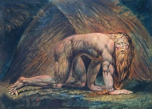 Nebuchadnezzar 1795/circa 1805 by William Blake 1757-1827