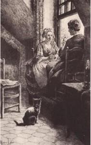 Rousseau en Therèse Levasseur in Parijs