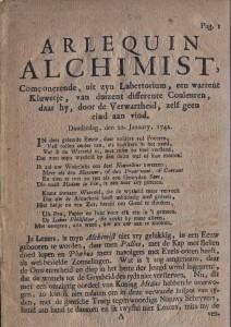 Arlequin Alchimist