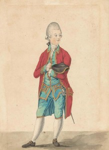 Een edelman, Isaac Lodewijk la Fargue van Nieuwland (1766)