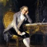 Jovellanos portrayed by Goya, 1798