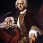 Lezende man - Horace Walpole, door Pierre Subleyras