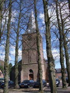 Het kerkje in Almen