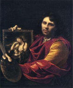 Zelfportret van Adriaan van der Werff